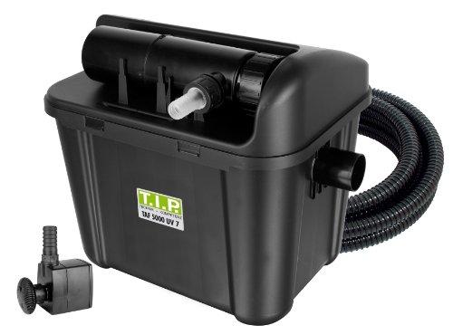 Teichaußenfilter TAF 5000 UV 7, UV-C 7 Watt, für Teiche bis zu 5.000 Liter