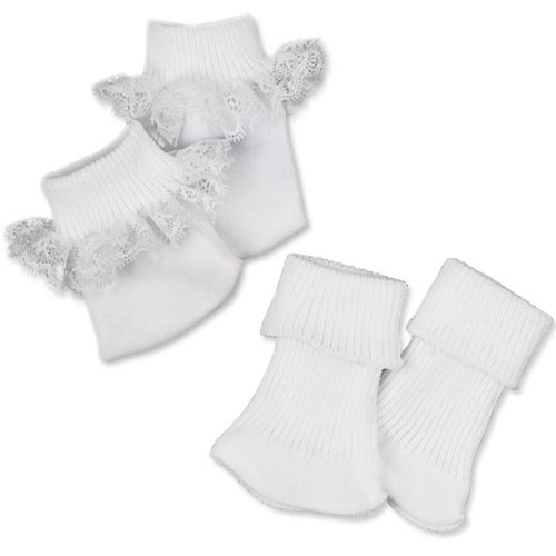 Doll Ankle Sock Set, Fits 18 Inch American Girl Dolls