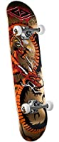 Powell Golden Dragon Loop Stencil Dragon 2 Complete Skateboard from Skate One Corp.