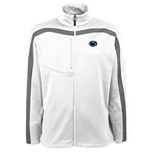 Penn State Nittany Lions NCAA Viper Mens Full Zip Sports Jacket (White) by Antigua
