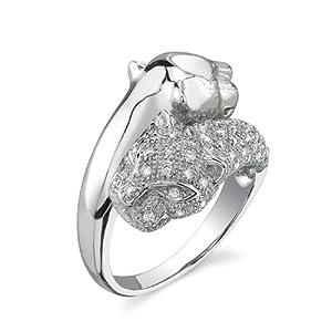Diamond Cougar Ring