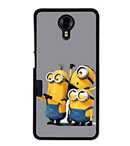 Funny Characters 2D Hard Polycarbonate Designer Back Case Cover for Micromax Canvas Xpress 2 E313