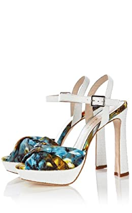 Print Platform Sandal