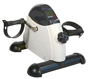 Amazon Com White Stationary Cardio Fitness Mini Cycle