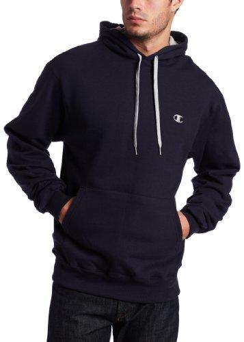 Champion Eco Fleece Pullover Hoodie, Navy, XXX-Large