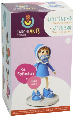 Fofuchas - Bebe, kit creativo (Carchidea 70010400)