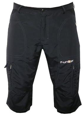 Funkier Bike Men's 3/4 Baggy Mountain Bike Shorts
