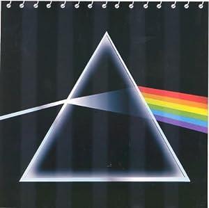 Pink Floyd Dark Side Moon Fabric Bathroom Shower Curtain