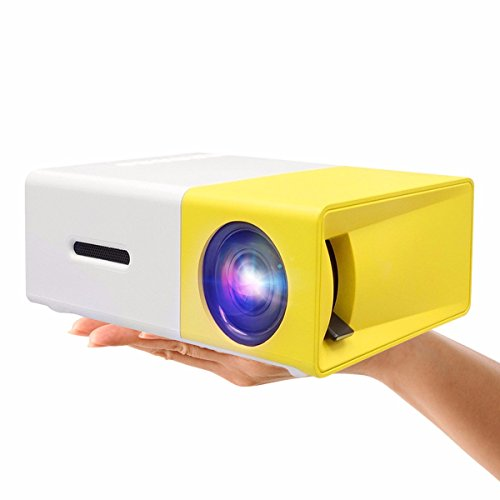 Mini-ProjectorELEGIANT-Portable-1080P-LED-Projector-Outdoor-Home-Cinema-Theater-with-PC-Laptop-USBSDAVHDMI-Input-Pocket-Projector-for-Video-TV-Movie-Party-Game-Home-Entertainment-Pico-Projector