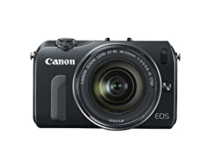 Canon EOS M 18.0 MP Compact Systems Camera with 3.0-Inch LCD and EF-M18-55mm IS STM Lens