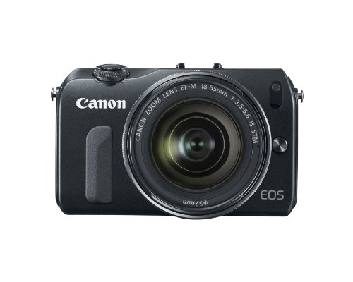Canon EOS M Mirrorless Camera Kit with EF-M 18-55mm f/3.5-5.6 IS STM Lens