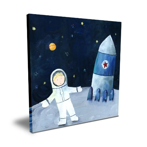 "Cici Art Factory 16""x 16"" Man on the Moon"