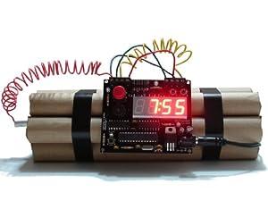 Defuse a bomb Wecker, Entschärfbarer Wecker mit Countdown