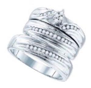 Pricegems 10K Yellow Gold Ladies Princess Diamond Invisible Set Bridal Ring Size: 6.25)