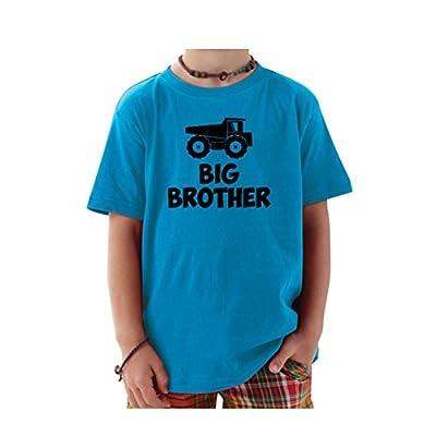We Match! Big Brother Dump Truck Toddler & Kids T-Shirt