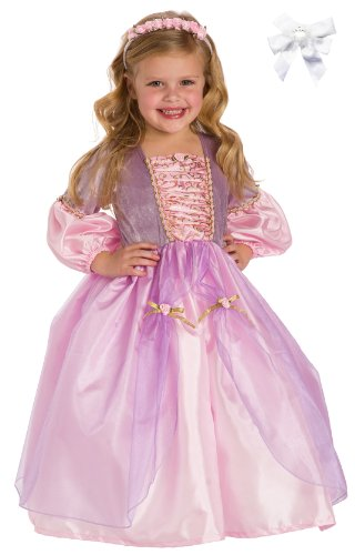 Little Adventures 12142 Rapunzel Princess Dress Costume Age 3-5 with Hairbow