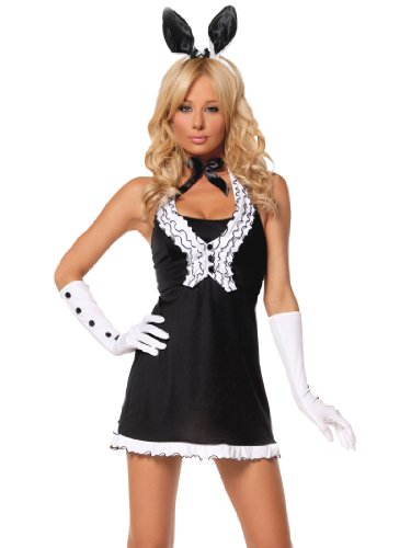 Sexy Bunny Costume Dress Perfect for Play Ears Tail Womens Theatrical Costume