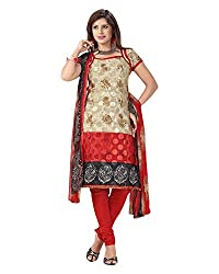 Clothing Deal Women's Crepe Georgette Unstitched Dress Material (Multi)