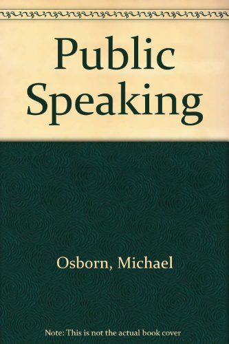 Public Speaking With Upgrade Cd-rom, Fifth Edition