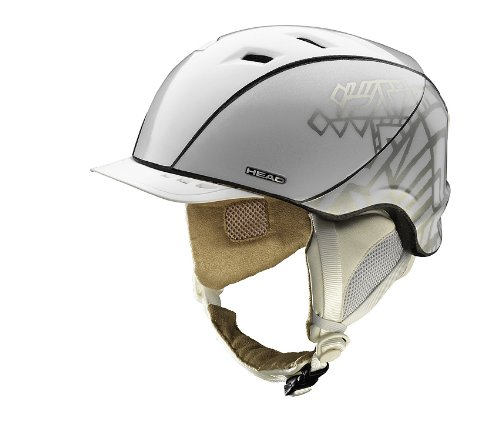 Head Largeana Brim Women's Helmet - White, X-Small