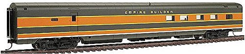 "Walthers Ho 932-9065 ""Empire Builder"" Streamlined Cb&Q-Owned Car -- Acf Coffee Shop Lounge"
