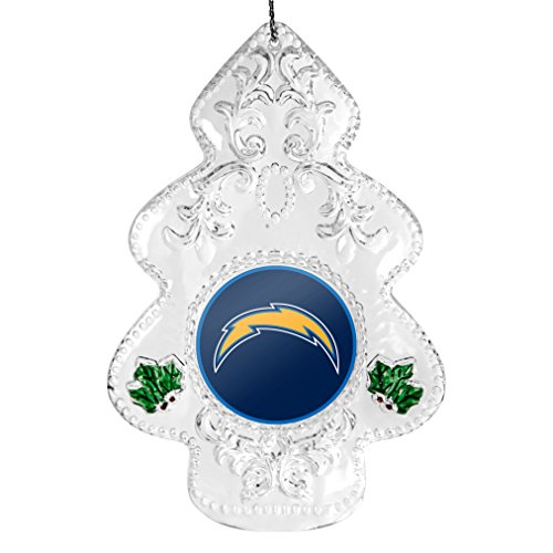 NFL San Diego Chargers Traditional Acrylic Tree Ornament
