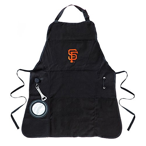 Team Sports America San Francisco Giants Men's Utility Grill Apron (Sf Giants Bbq Apron compare prices)