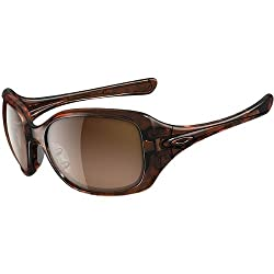 Oakley Necessity Women's Asian Fit Lifestyle Casual Wear Sunglasses - Tortoise/VR50 Brown Gradient