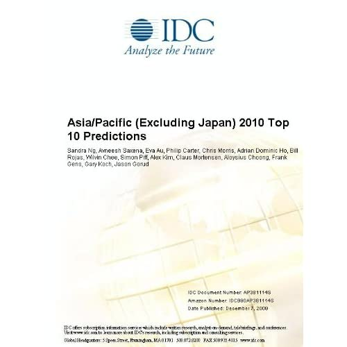 Asia/Pacific (Excluding Japan) Processing Services 2006 2010 Forecast and Analysis Sandra Ng