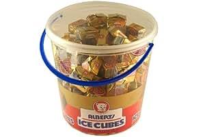 Albert's Iced Chocolate Flavor Ice Cubes 120 Piece Tub