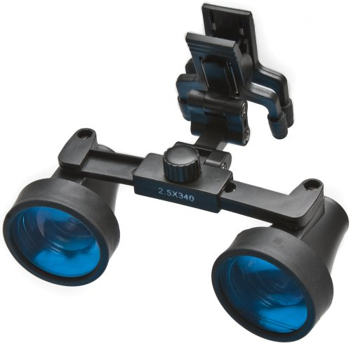 Wpi 504037 Binocular Clip On Loupe, 2.5X Magnification, 34Cm Working Distance