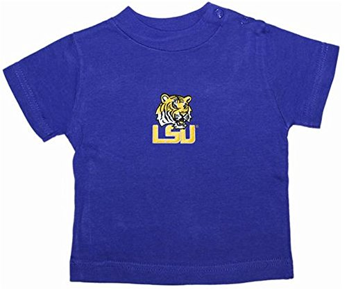 LSU Tigers Purple NCAA College Toddler Baby T-Shirt Tee