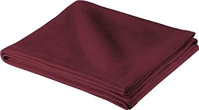Sport-Tek bedding Sweatshirt Blanket OSFA Maroon