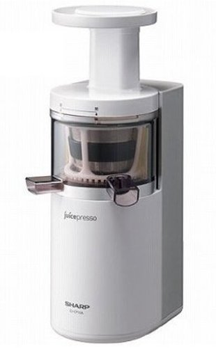 Review Sharp Slow Juicer Ej C20y Rd : EJ-CP10A-W SHARP juicepresso system slow juicer white ...