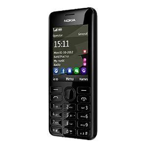 Nokia 206 DS Téléphone portable Dual Sim Appareil photo 1,3 Mpix Lecteur MP3 Bluetooth Noir