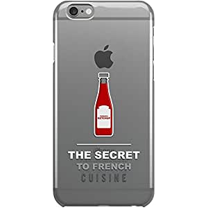DailyObjects Ketchup Clear Case For iPhone 6 Plus