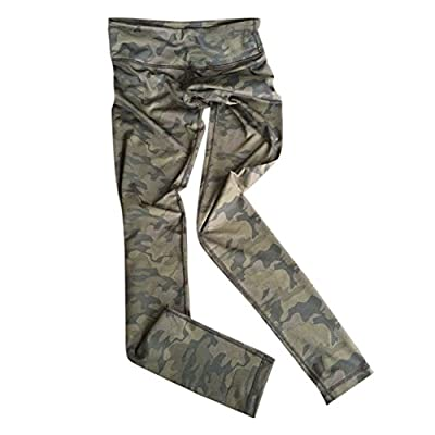 GOGO TEAM Women's Camouflage Absolute Workout Running Yoga Ankle Legging