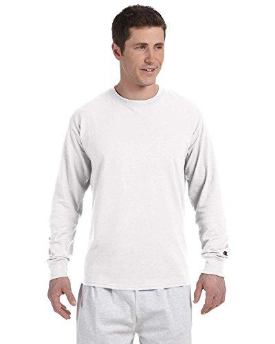 champion-t-shirt-a-manches-longues-pour-homme-1pk-blanc-small