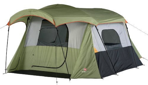 Swiss Gear St. Alban Family Dome Tent (Sage/Light Grey/Orange)