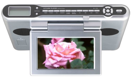 5 Best Buy Sylvania SKCR2644A Under Counter 7-Inch TV/DVD/CD/Clock ...