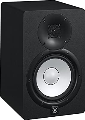 Yamaha HS8 Powered Studio Monitors Pair Black w/ XLR Cables - Bundle by Yamaha