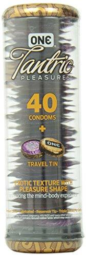 One Condoms One Tantric Pleasures, 40 Count