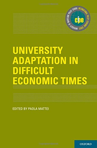 University Adaptation in Difficult Economic Times (International Policy Exchange Series)