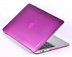 X-Doria Slim-Fit and Durable Protective Case for 11-inch MacBook Air (Transparent Purple)