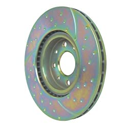 EBC Brakes GD7105 3GD Series Dimpled and Slotted Sport Rotor