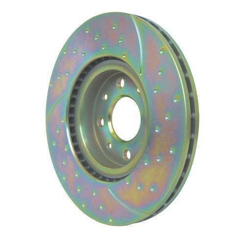 EBC Brakes GD7345 3GD Series Dimpled and Slotted Sport Rotor (Honda Prelude Brakes compare prices)