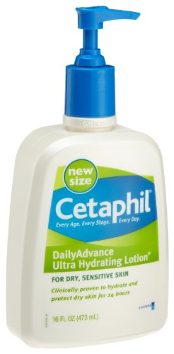 Cetaphil Cetaphil Daily Advance Lotion for Dry Sensitive Skin, 16.0 ounces Unit
