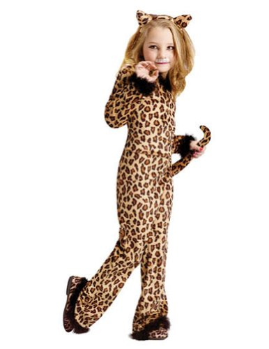 Baby-Toddler-Costume Pretty Leopard Toddler Costume 3T-4T Halloween Costume