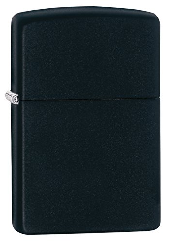Zippo Black Matte Pocket Lighter