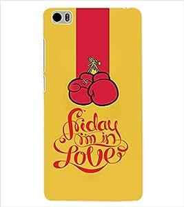 ColourCraft Love Back Case Cover for XIAOMI MI 5